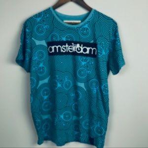 Fox Cycling Amsterdam Graphic Tee
